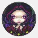 """Black Orchid Fairy"" Sticker"