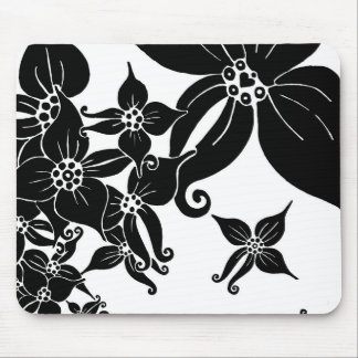 Black Orchids Mouse Pad