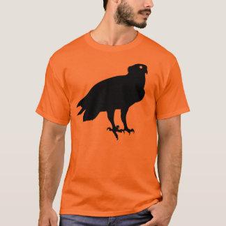 Black Osprey Bird Of Prey Giving You the Stink Eye T-Shirt