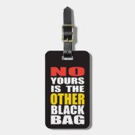 Black Other Black Bag Luggage Tag