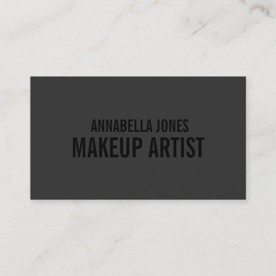 Black out makeup artist business cards zazzle black out makeup artist business cards colourmoves