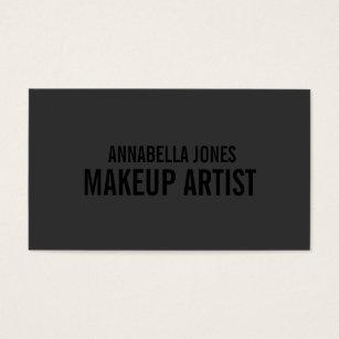 Makeup artist business cards zazzle black out makeup artist business cards reheart Choice Image