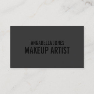 Makeup artist business cards zazzle black out makeup artist business cards cheaphphosting Image collections