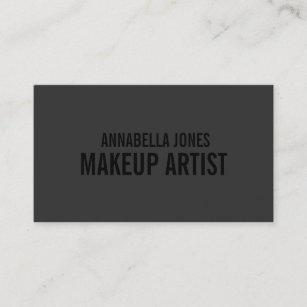 Makeup artist business cards zazzle black out makeup artist business cards accmission Image collections