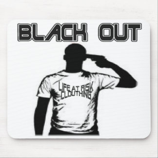 Black Out Mouse Pad