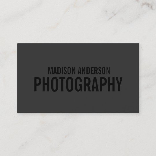 Black out photography business cards zazzle black out photography business cards reheart Gallery