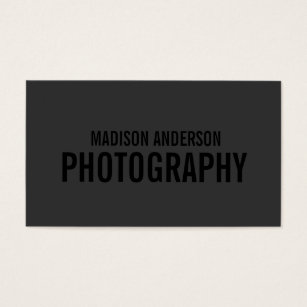 Photography business cards templates zazzle black out photography business cards fbccfo Gallery