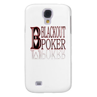 Black Out Poker Galaxy S4 Covers