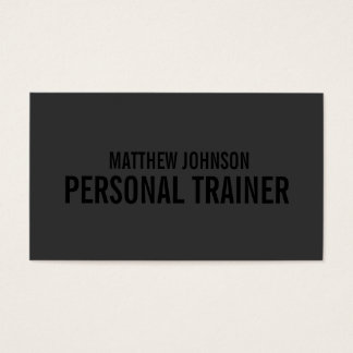 Black Out Trainer   Business Cards
