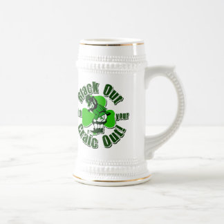 Black Out With Your Craic Out! Beer Stein