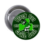 Black Out With Your Craic Out! Button