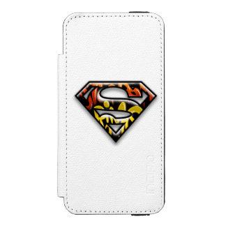 Black Outline Graffiti Superman Logo Incipio Watson™ iPhone 5 Wallet Case