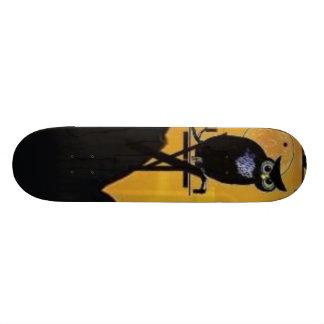 Black Owl Skateboard
