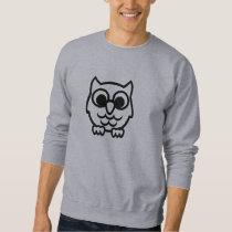 Black owl sweatshirt