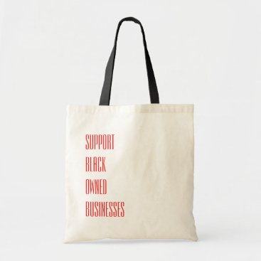 Professional Business Black Owned Tote Bag