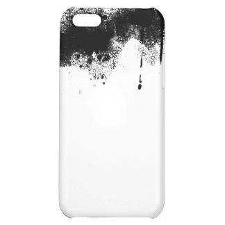 black paint iPhone 5C cases