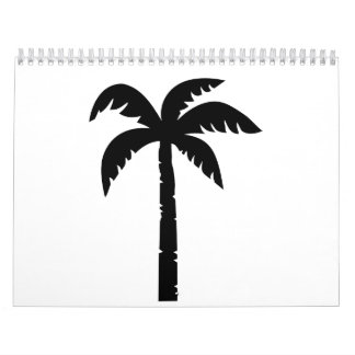 Black palm calendar