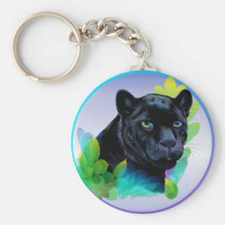 BLACK PANTHER and BLENDING JUNGLE Keychain