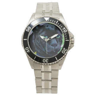 BLACK PANTHER and BLENDING JUNGLE Wrist Watch