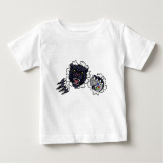 Black Panther Angry Esports Mascot Baby T-Shirt