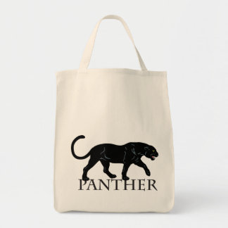 black panther grocery tote bag