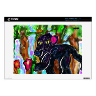 black panther beautiful jungle acer chromebook decals