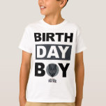 Black Panther | Birthday Boy - Name & Age T-Shirt