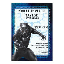 Black Panther | Birthday Invitation