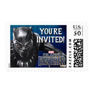 Black Panther   Birthday Postage