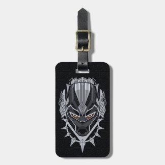 Black Panther | Black Panther Head Emblem Bag Tag