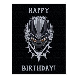 Black Panther | Black Panther Head Emblem Postcard