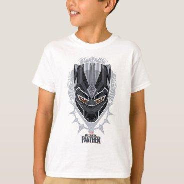 blackpanther Black Panther | Black Panther Head Emblem T-Shirt