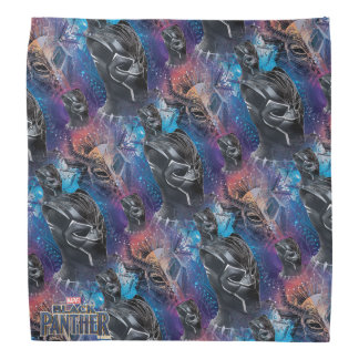 Black Panther | Black Panther & Mask Pattern Bandana