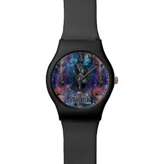 Black Panther | Black Panther & Mask Pattern Watch