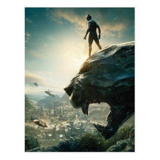 Black Panther | Black Panther Standing Atop Lair Postcard