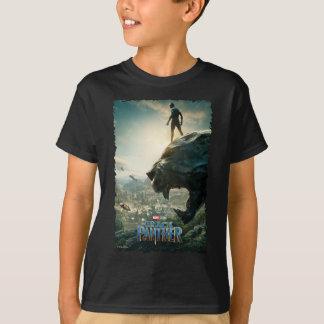 Black Panther | Black Panther Standing Atop Lair T-Shirt