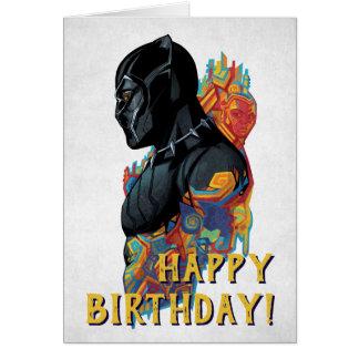 Black Panther | Black Panther Tribal Graffiti Card