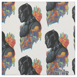 Black Panther | Black Panther Tribal Graffiti Fabric