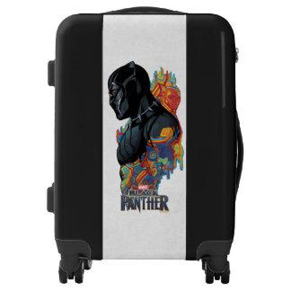 Black Panther | Black Panther Tribal Graffiti Luggage