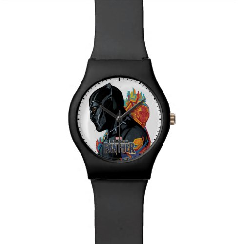 Black Panther  Black Panther Tribal Graffiti Watch