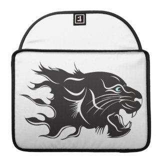 Black Panther Blue Eyes MacBook Pro Sleeve