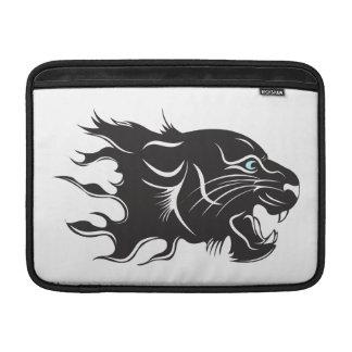 Black Panther Blue Eyes MacBook Sleeve