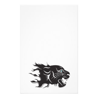 Black Panther Blue Eyes Stationery