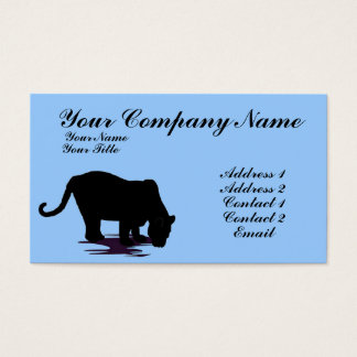 Black Panther Business Card