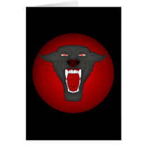 Black Panther Card Template