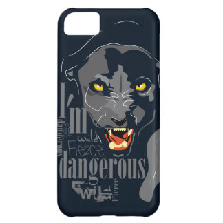 Black panther case for iPhone 5C