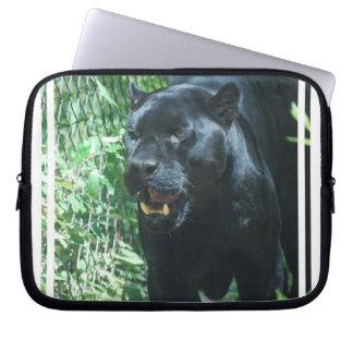 Black Panther Cat Electronics Bag Computer Sleeves