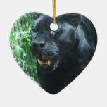 Black Panther Cat Ornament