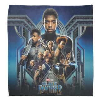 Black Panther | Characters Over Wakanda Bandana