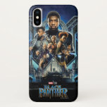 Black Panther | Characters Over Wakanda iPhone XS Case